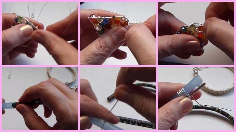 pulseras de alambre facil de hacer