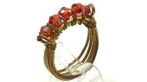anillos cintillo de alambre