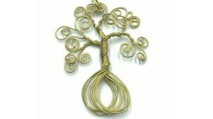 árbol de la vida con alambre