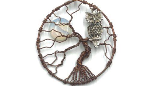 árbol de la vida con búho