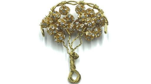 árbol de la vida con esferas de cristales