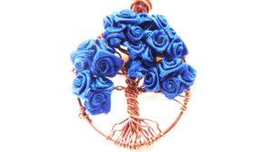 árbol de la vida con flores