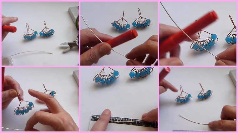 aretes resorte paso 1