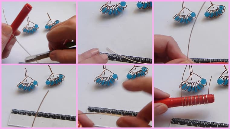 aretes resorte paso 2