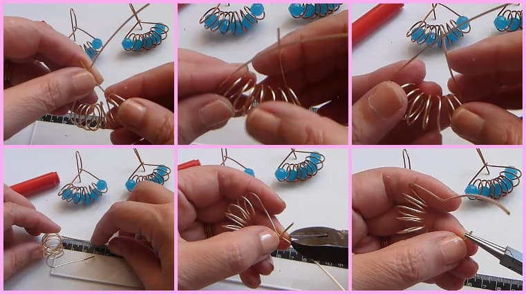 aretes resorte paso 3
