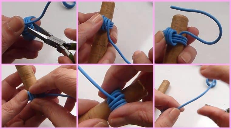 tutorial Anillos Con Cable Eléctrico Y Perla