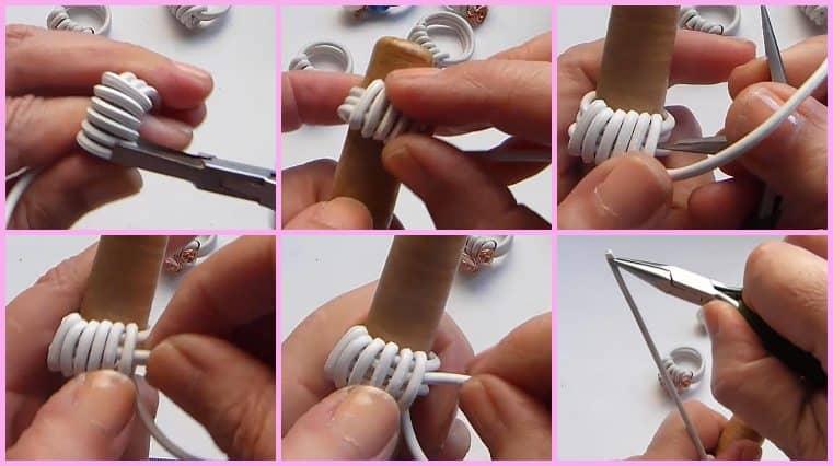 tutorial Anillos Con Cable Eléctrico Y Alambre
