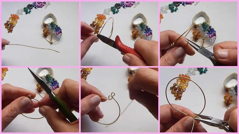 Árbol De La Vida De Ramas Finas Multicolor Fácil Y Sencillo