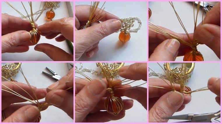 como hacer Árbol De La Vida Con Tronco De Cristal Y Ramas Circulares