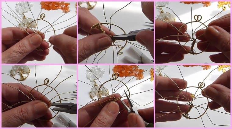 tutorial Colgante Árbol De La Vida Naranjo DIY