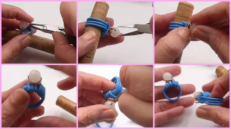 anillo con cable electrico