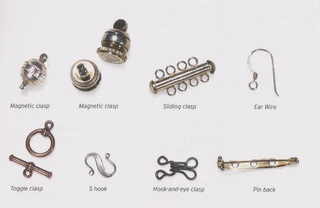 terminaciones alambres y materiales de joyería