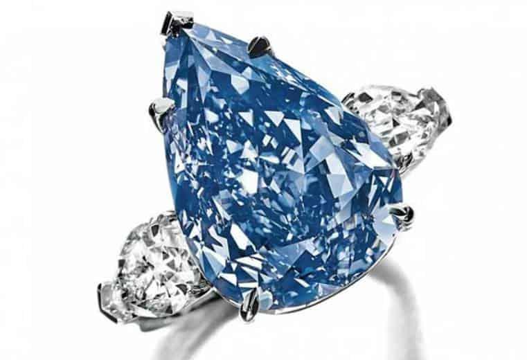 Anillo Winston Blue Uno