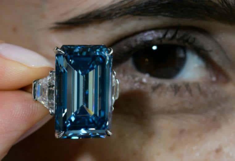 Diamante Azul De Oppenheimer