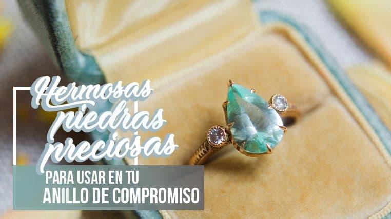 piedras preciosas para el anillo de compromiso