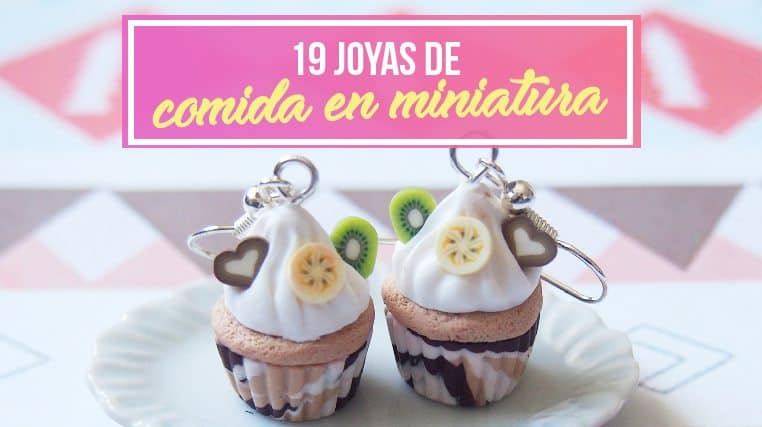 19 Joyas de Comida En Miniatura