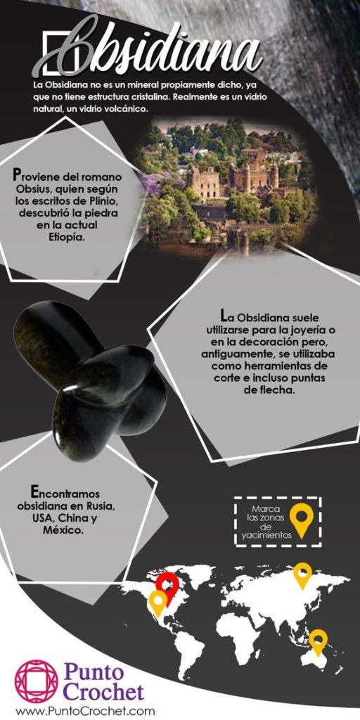 Piedra Obsidiana Características Propiedades Y Usos