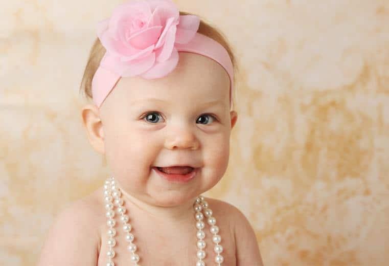 joyería de bebe seis