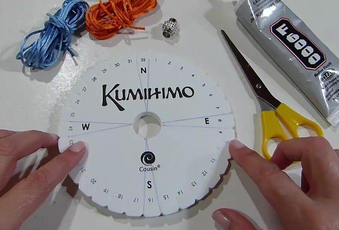 kumihimo tutorial