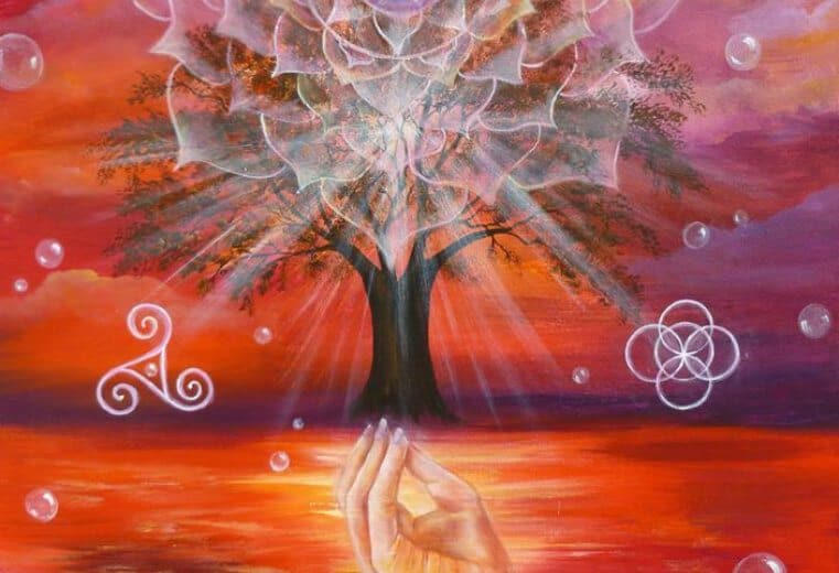 leyenda del árbol de la vida