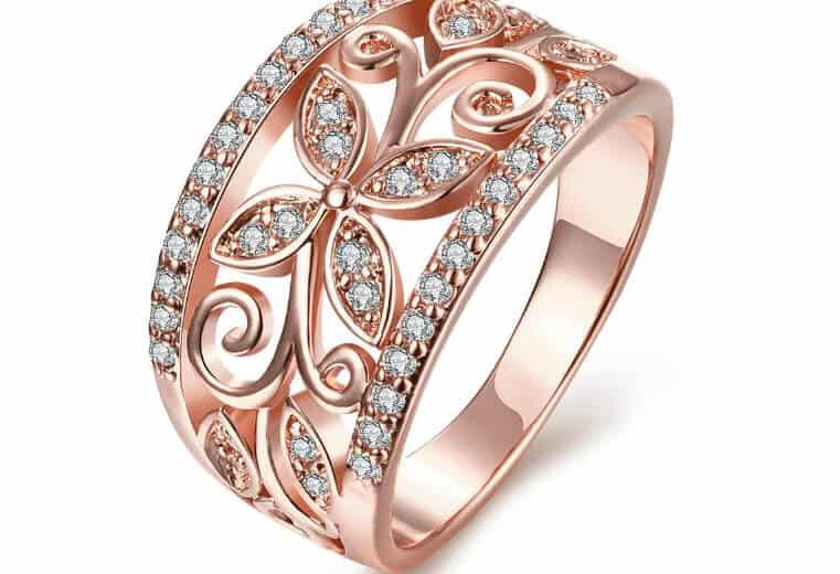 oro rosa tendencias bvlgari anillo