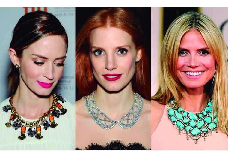 tipos de collares celebridades collar