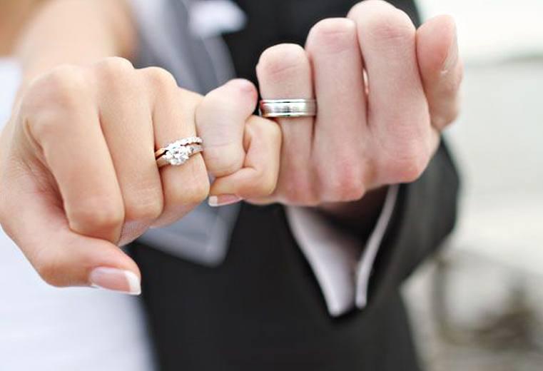 anillos de boda ocho