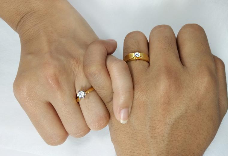 anillos de boda uno