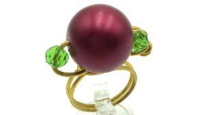 anillos navideños con alambre