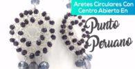 Aretes En Punto Peruano