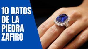 Piedra Zafiro 10 Datos Interesantes De La Piedra Zafiro